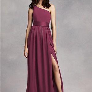 Vera Wang Dresses - Wine Vera Wang Bridesmaid dress Size 10